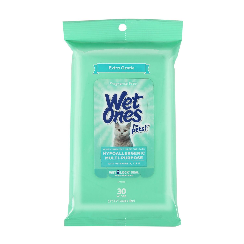 Wet Ones Hypoallergenic Multi-Purpose Cat Wipes