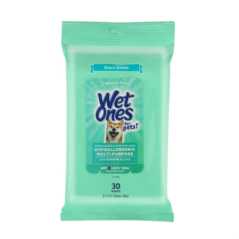 Wet Ones Hypoallergenic Multi-Purpose Dog Wipes