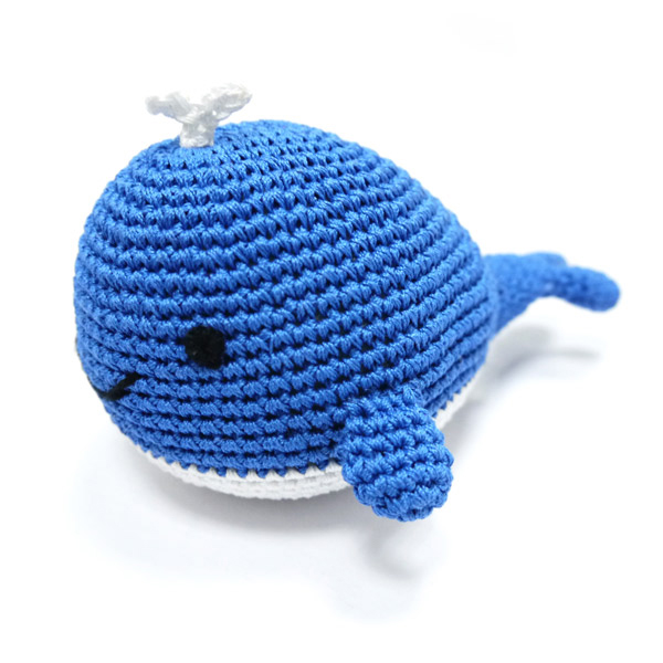 Whale Crochet Dog Toy By Dogo