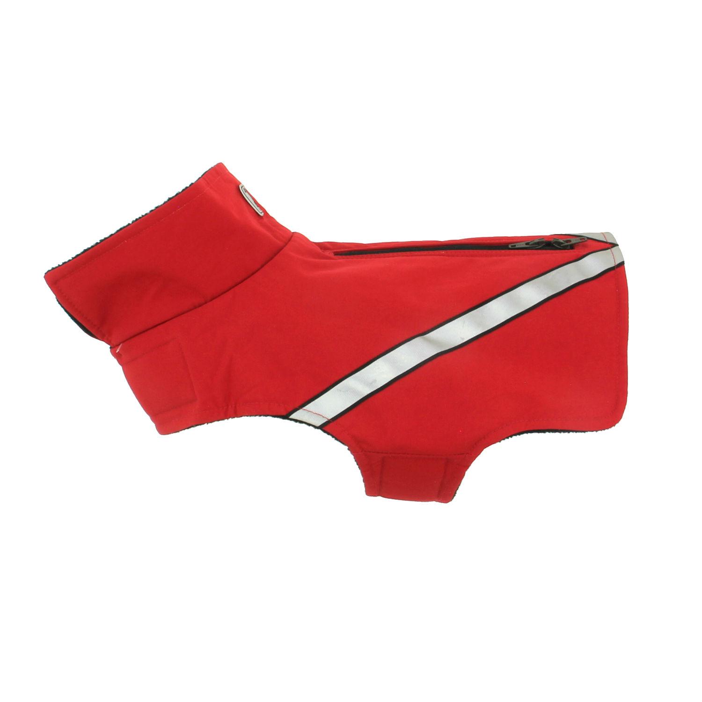 Whistler Zip Line Dog Coat - Red