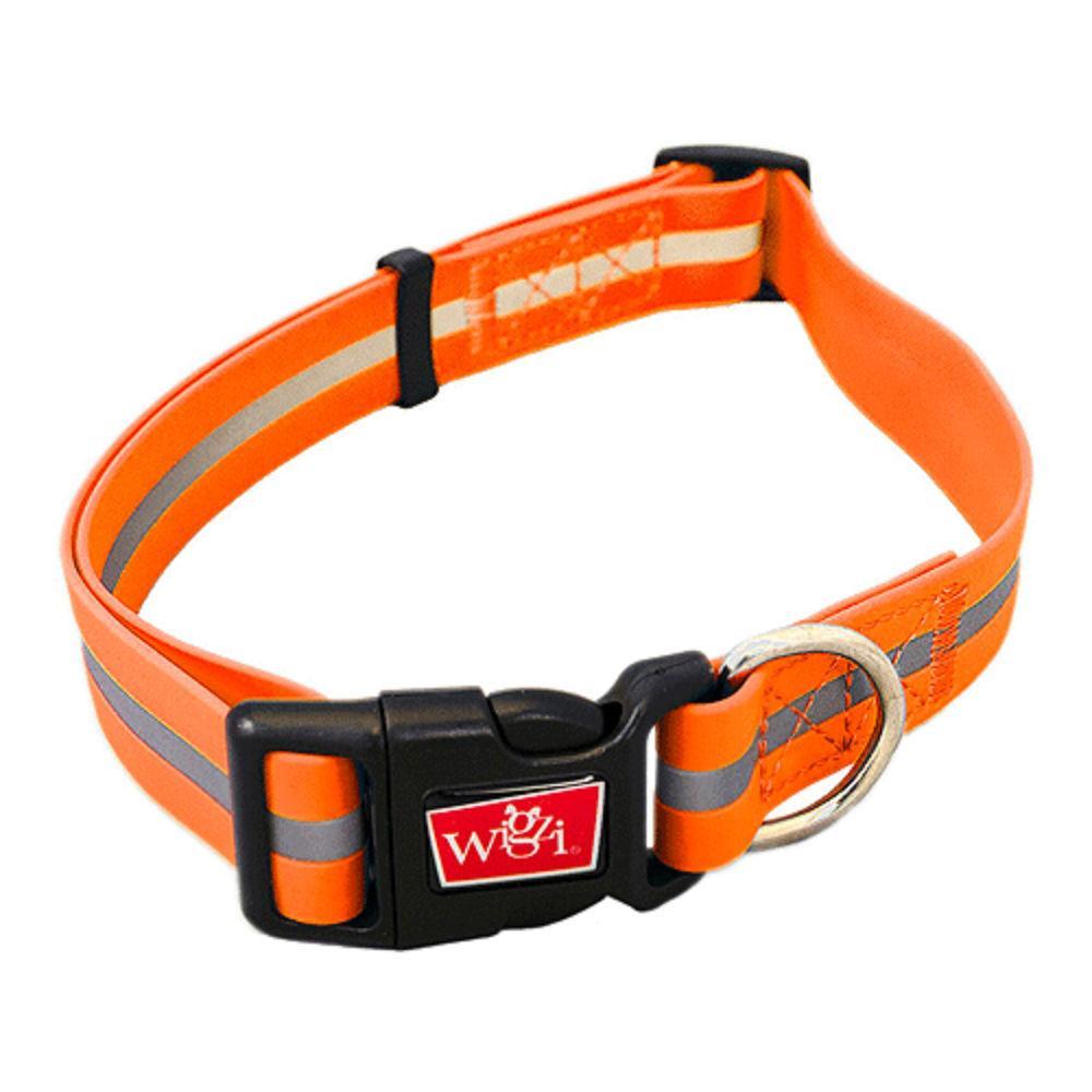 Wigzi Waterproof Dog Collar - Neon Orange