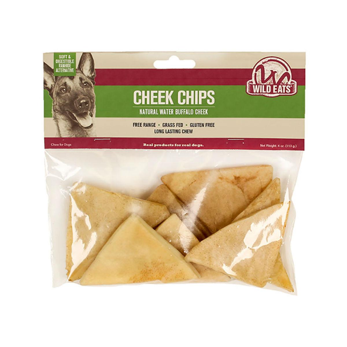 Wild Eats Cheek Chips Dog Chews