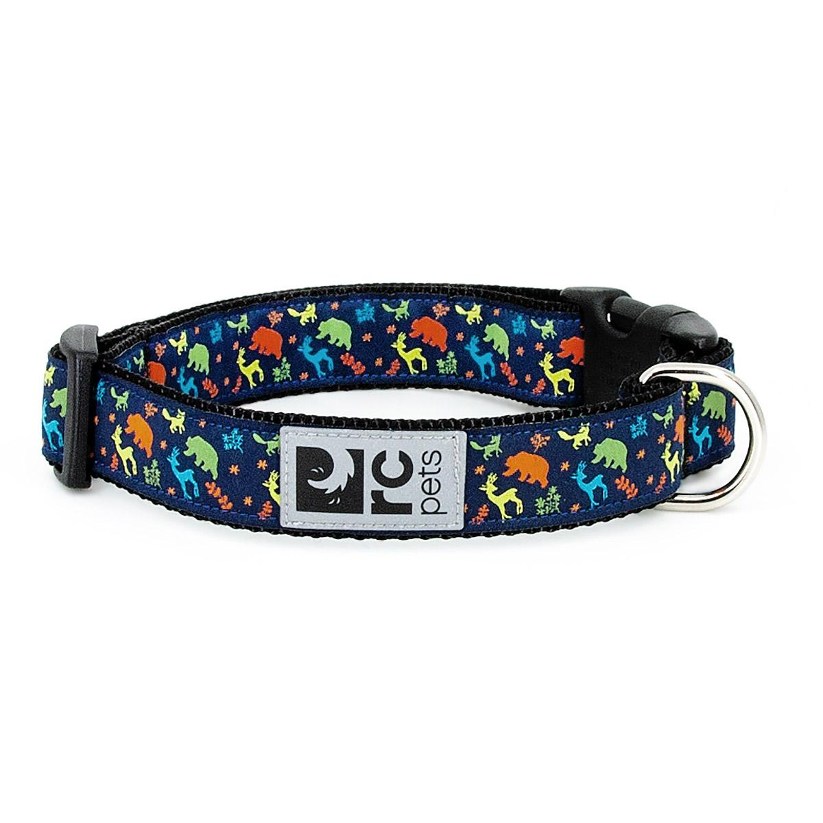 Wilderness Adjustable Clip Dog Collar By RC Pet