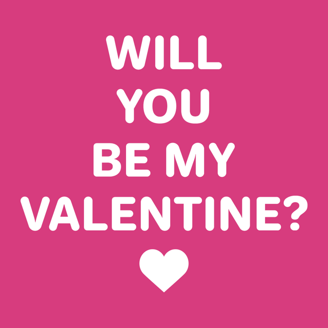 Will You Be My Valentine? Dog Shirt   Raspberry With Same Day Shipping |  BaxterBoo