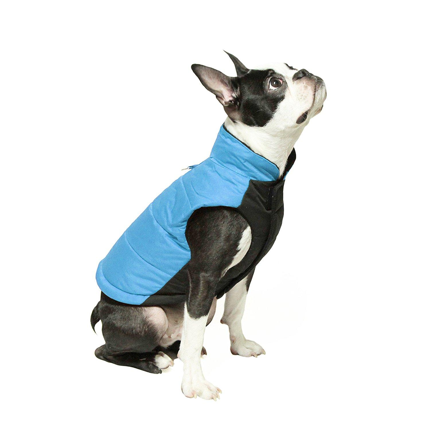 Wind Parka Dog Coat by Gooby - Blue