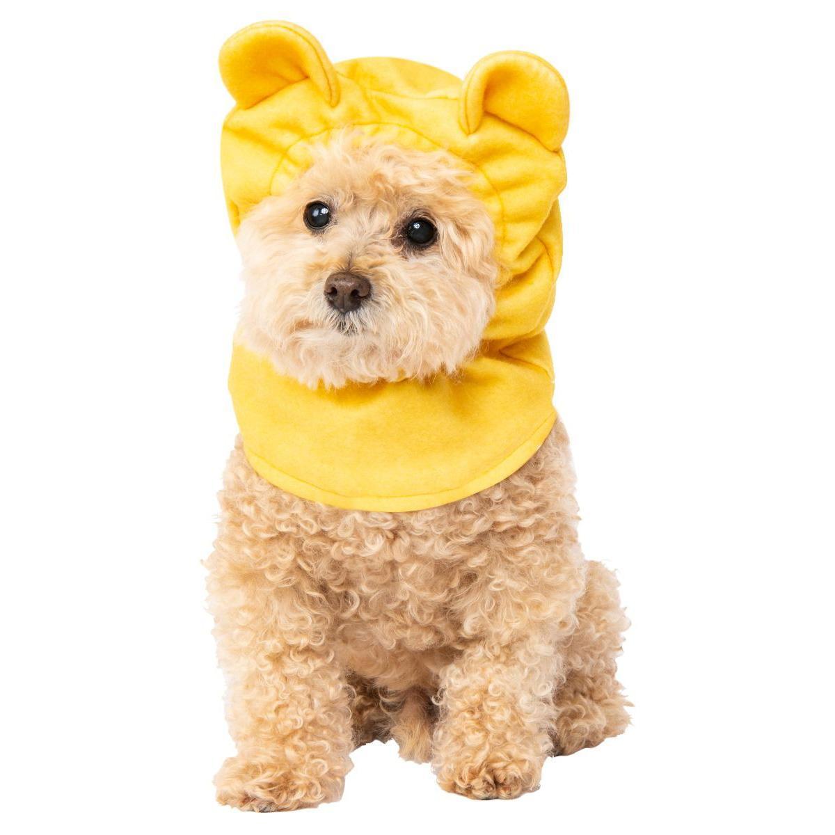 Winnie The Pooh Headpiece Dog Costume by Rubies