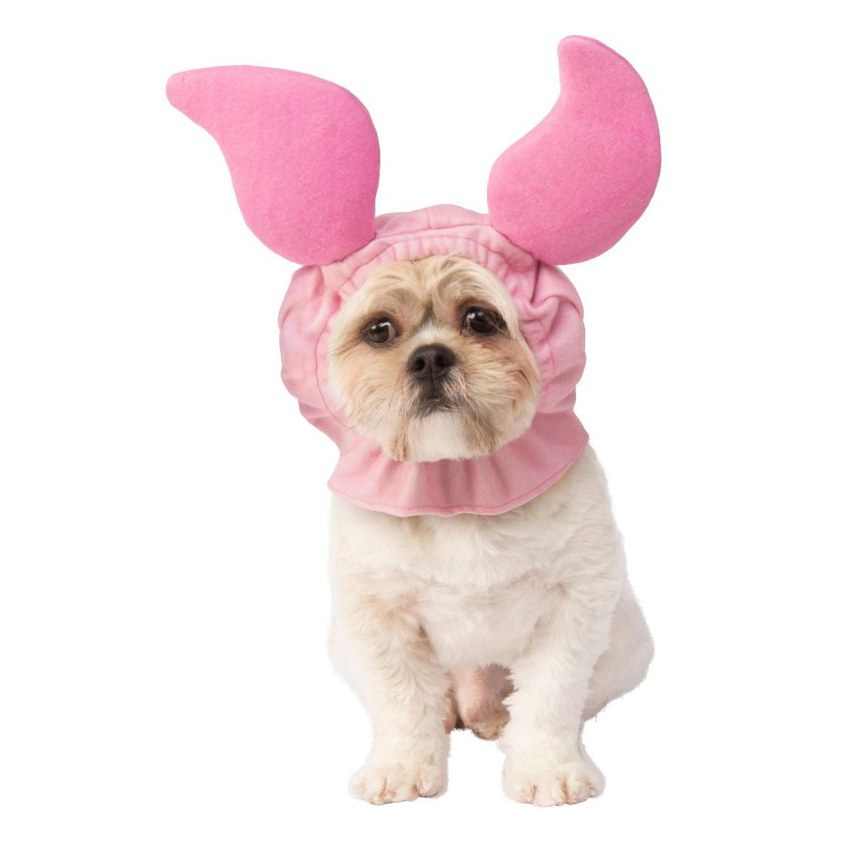 Winnie The Pooh Piglet Headpiece Dog Costume by Rubies