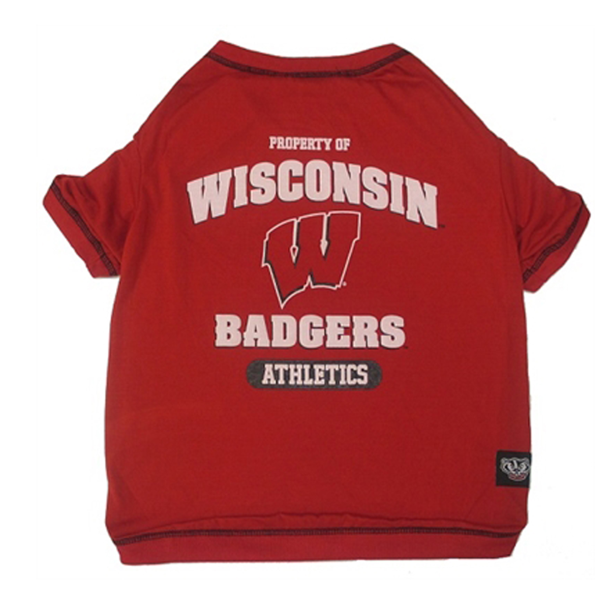 Wisconsin badgers athletics dog t shirt with same day for University of wisconsin t shirts