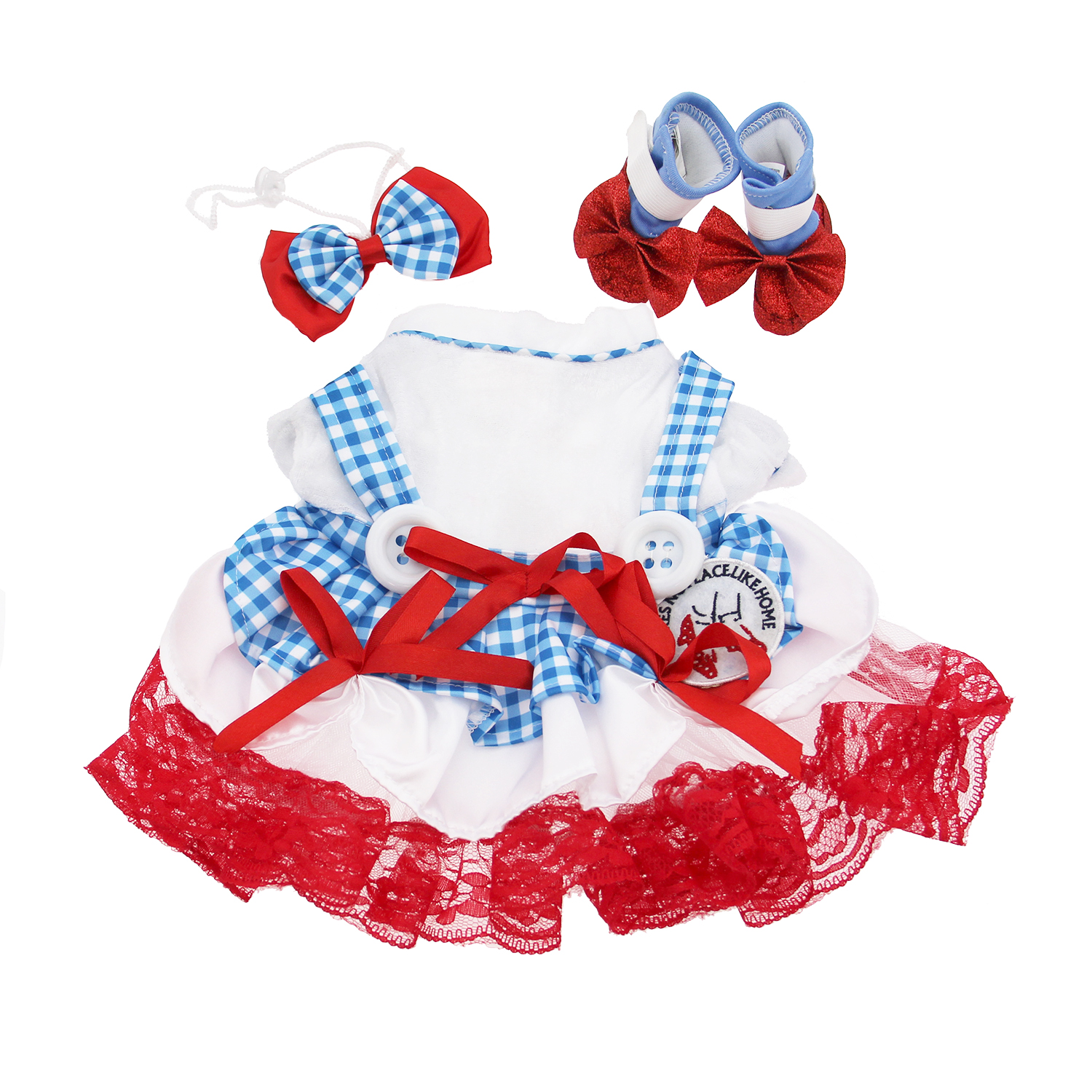 wizard of oz dorothy dog halloween costume baxterboo