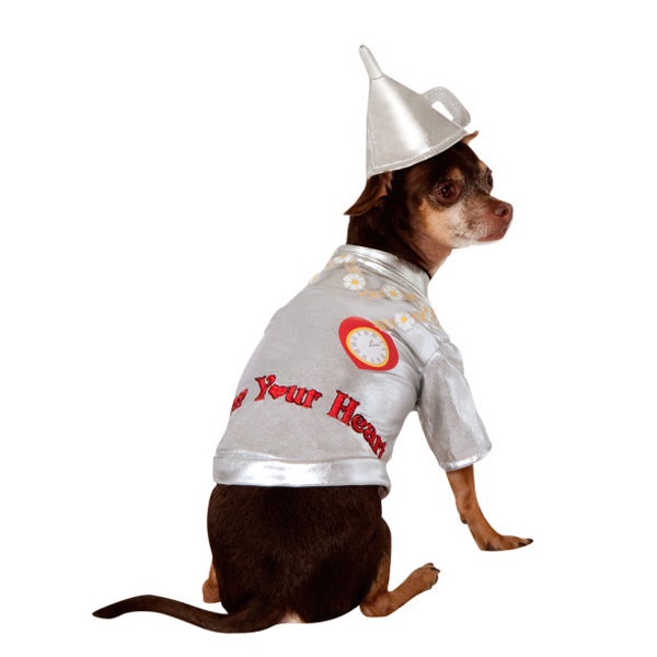 Wizard of Oz Tin Man Dog Halloween Costume