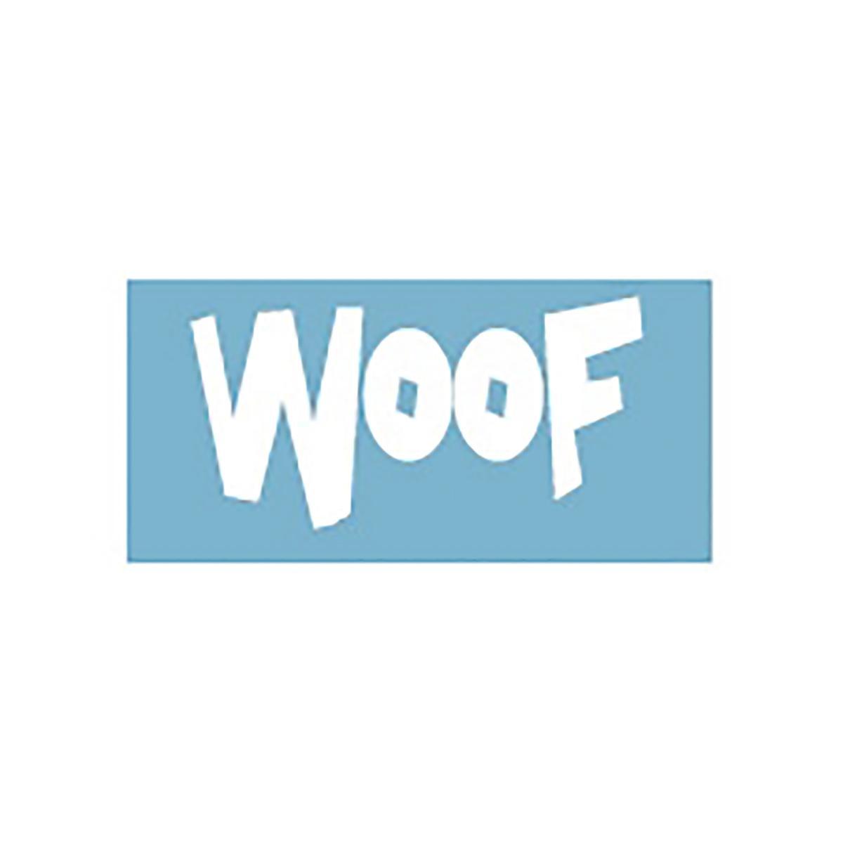 Woof Car Window Decal