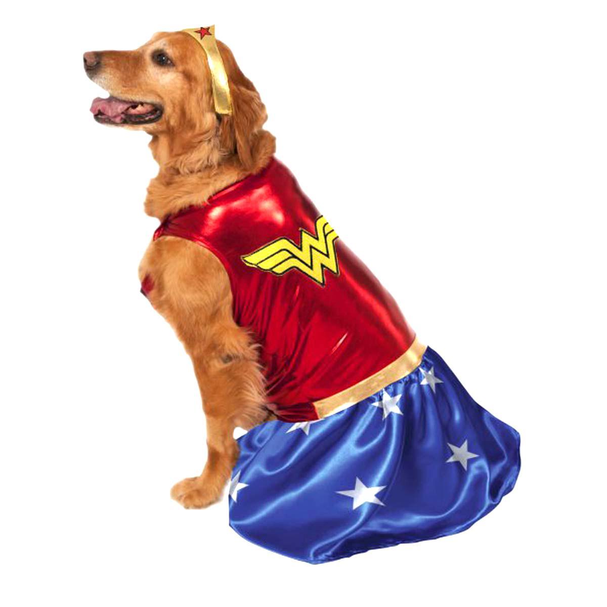 wonder woman dog halloween costume   baxterboo