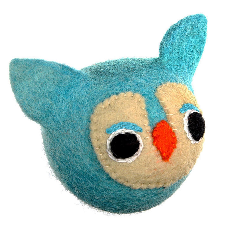 Wooly Wonkz Woodland Dog Toy - Owl
