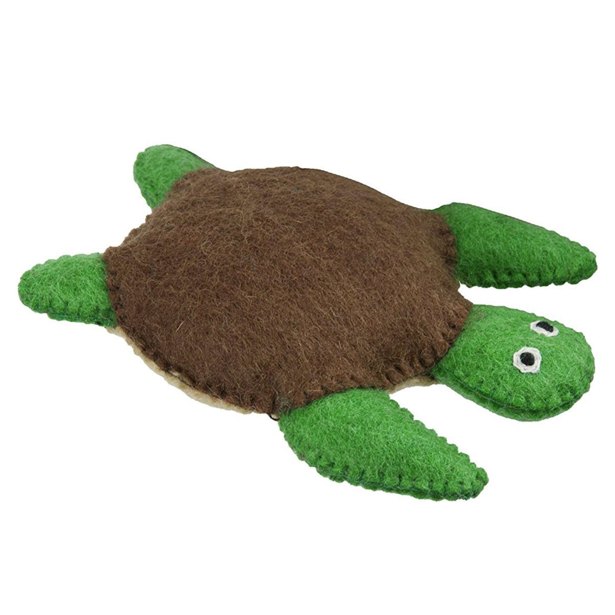 Wooly Wonkz Under The Sea Dog Toy - Turtle