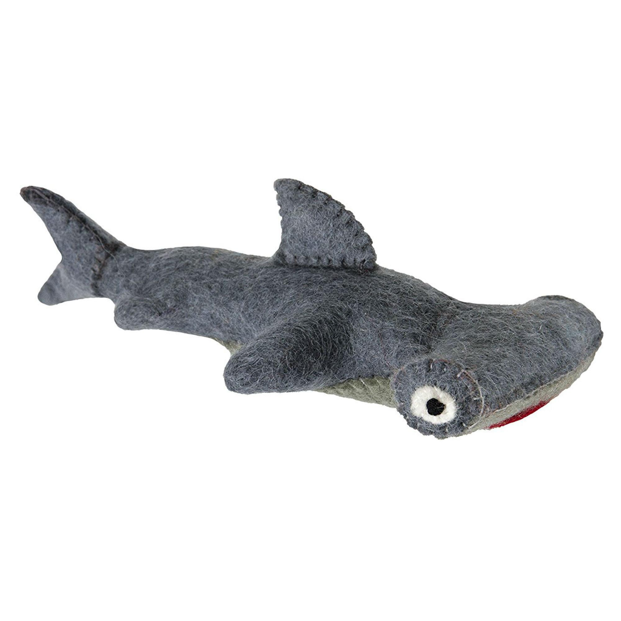 Wooly Wonkz Under The Sea Dog Toy - Hammerhead