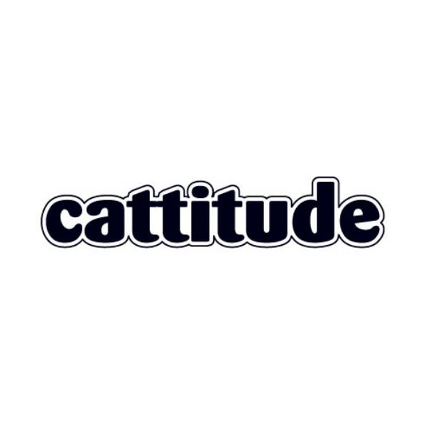 Word Dog Magnet - Cattitude