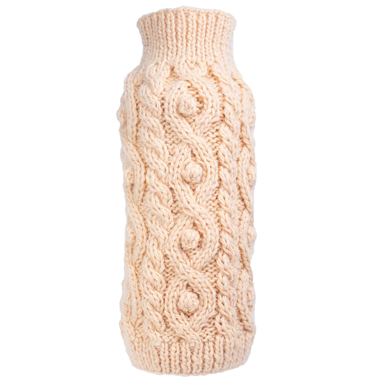Worthy Dog Fisherman Dog Sweater - Cream