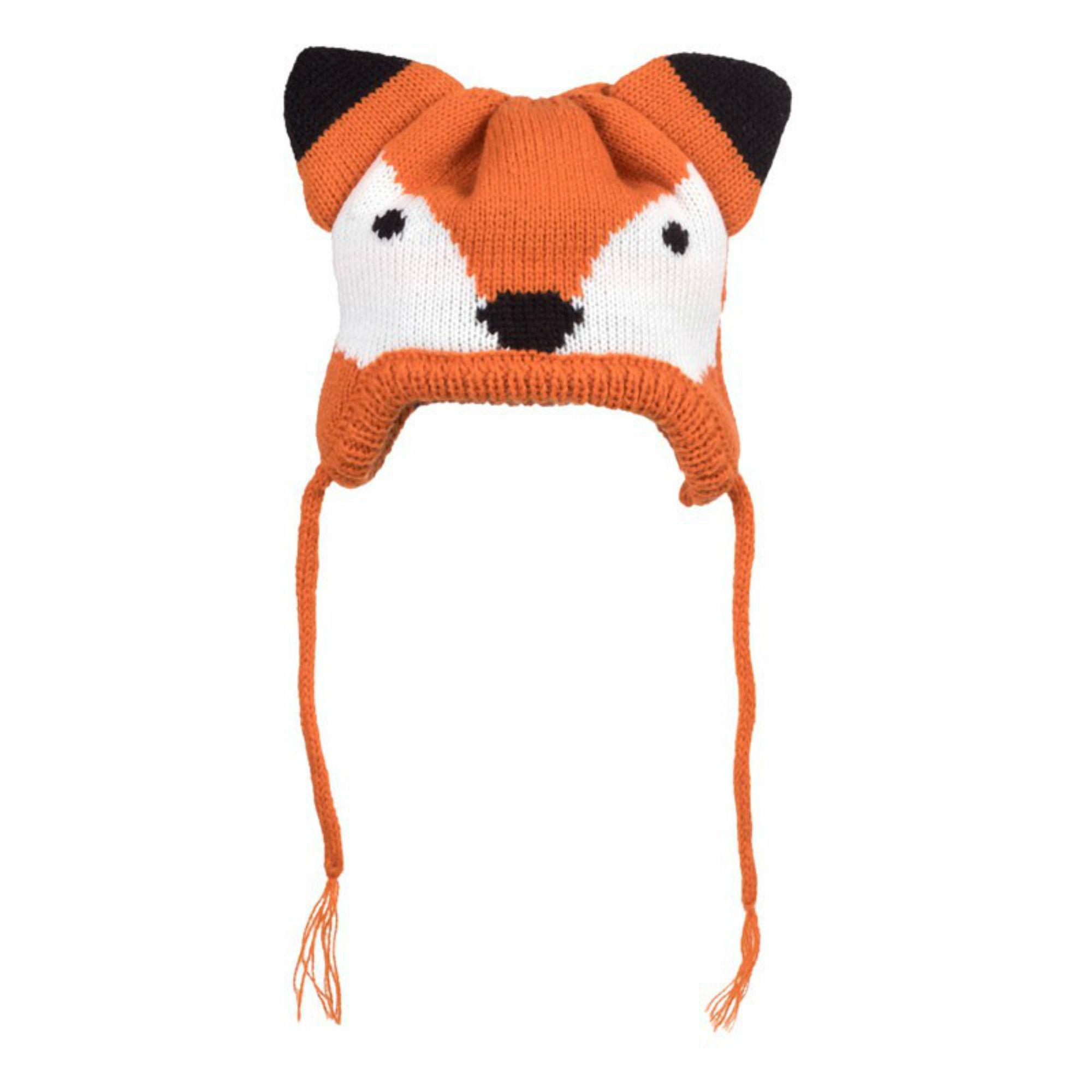 Worthy Dog Fox Dog Hat - Orange