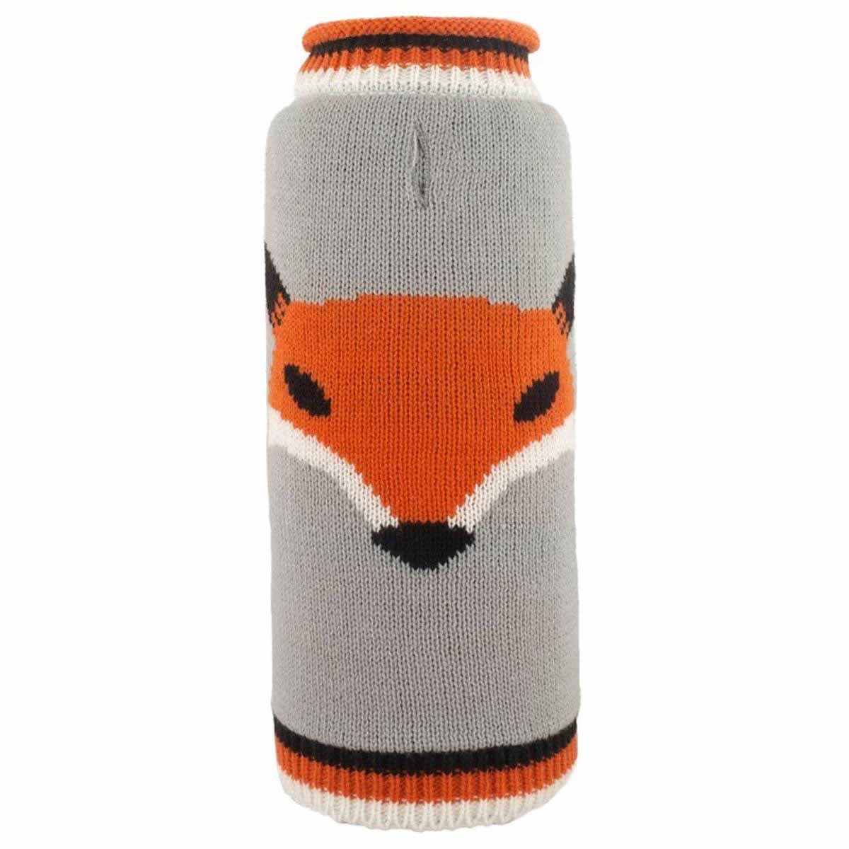 Worthy Dog Foxy Dog Sweater - Gray