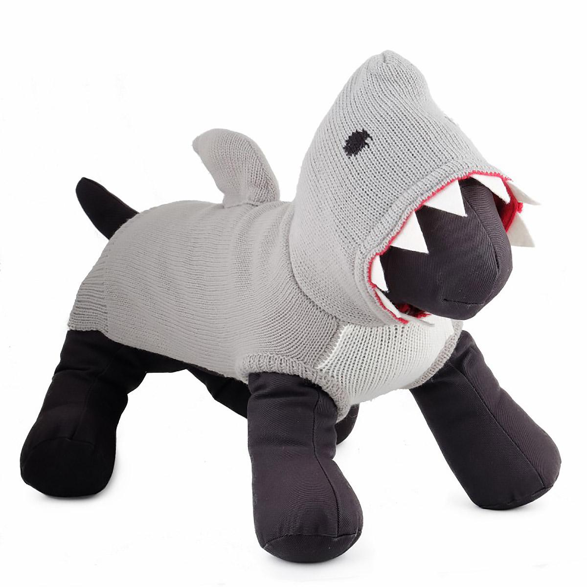 Worthy Dog Jimmy the Shark Dog Hoodie