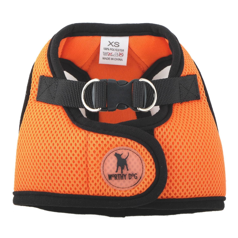 Worthy Dog Sidekick Dog Harness - Orange