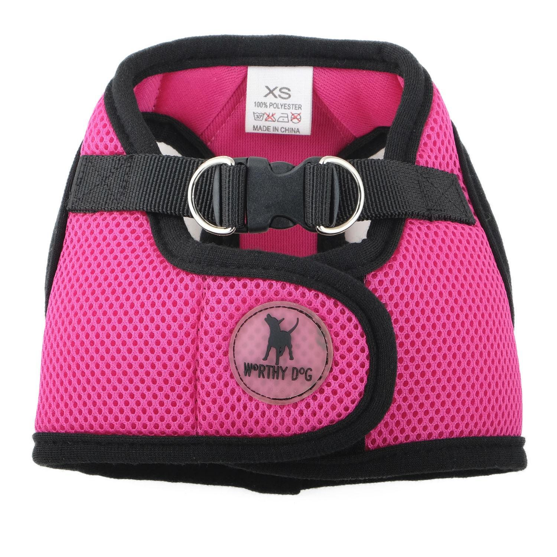Worthy Dog Sidekick Dog Harness - Pink