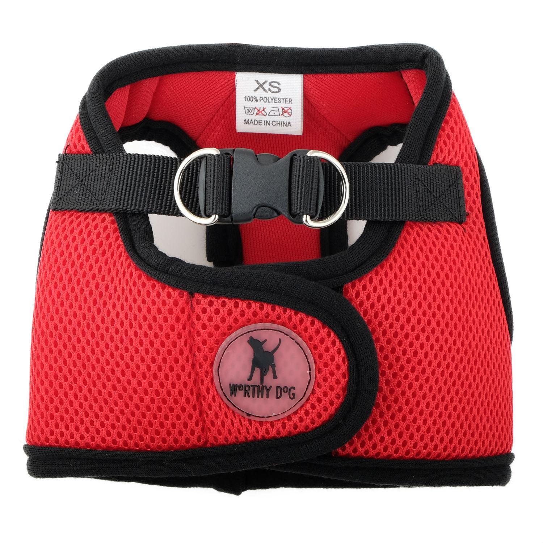 Worthy Dog Sidekick Dog Harness - Red