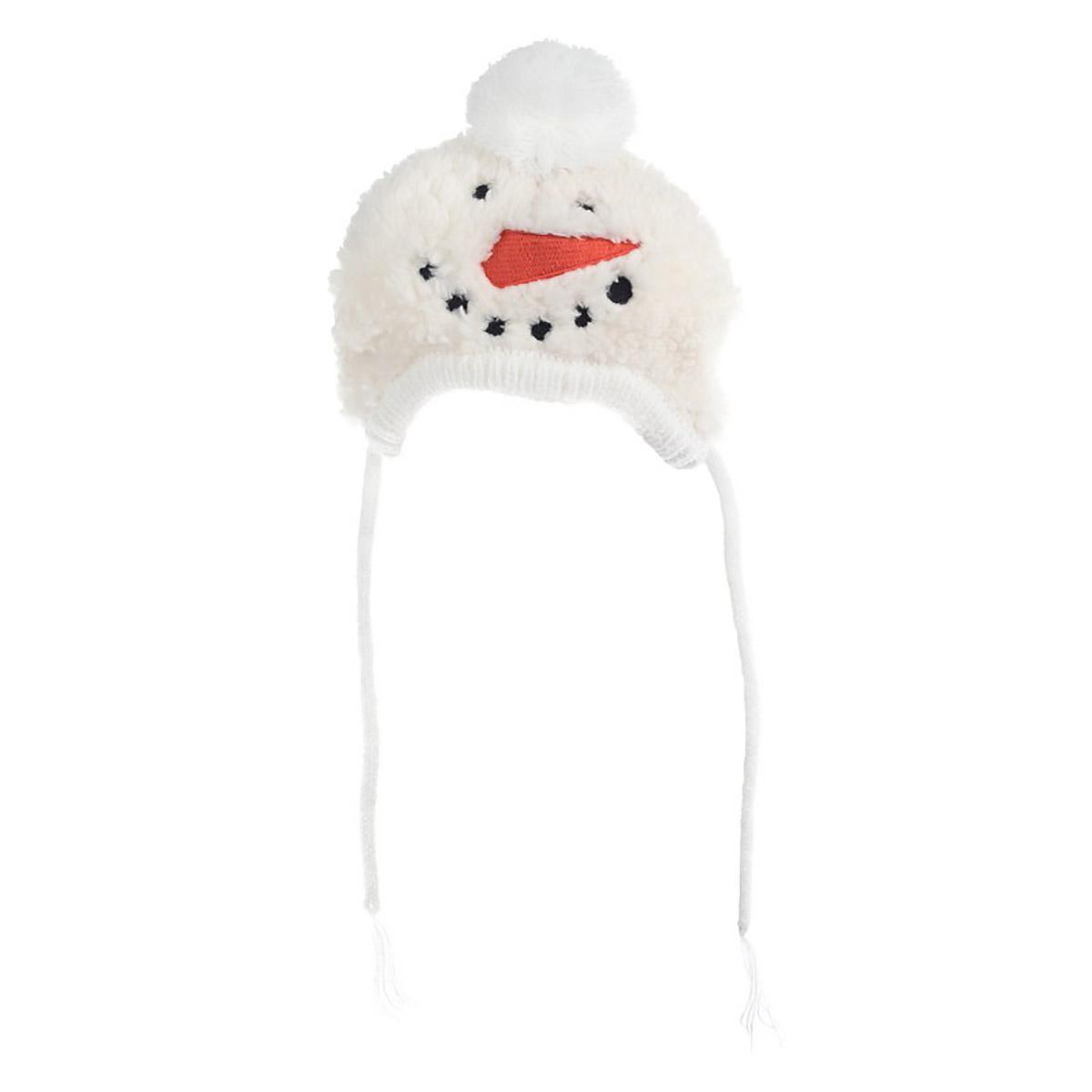 Worthy Dog Snowman Dog Hat