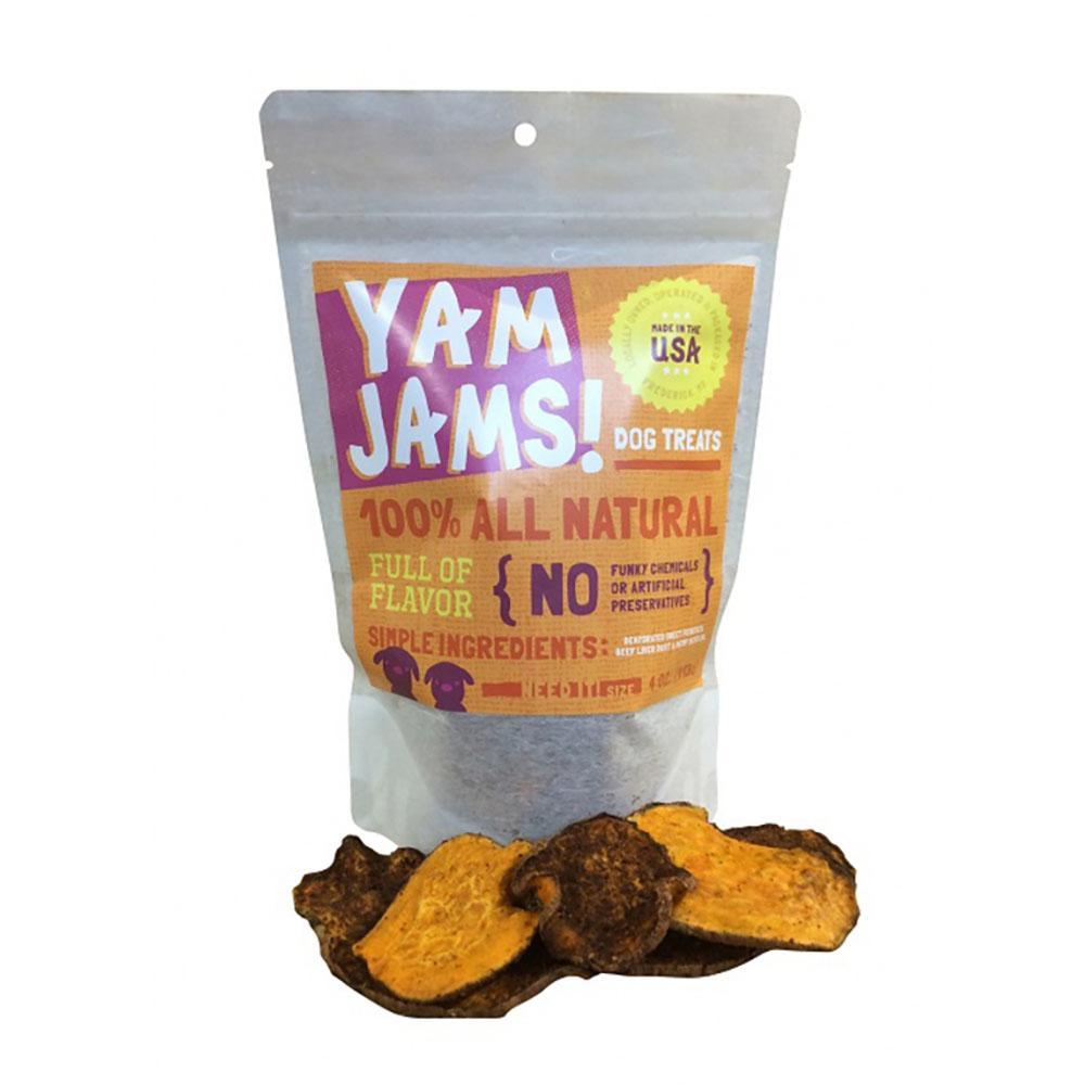 Yam Jams Sweet Potato and Liver Dog Treats