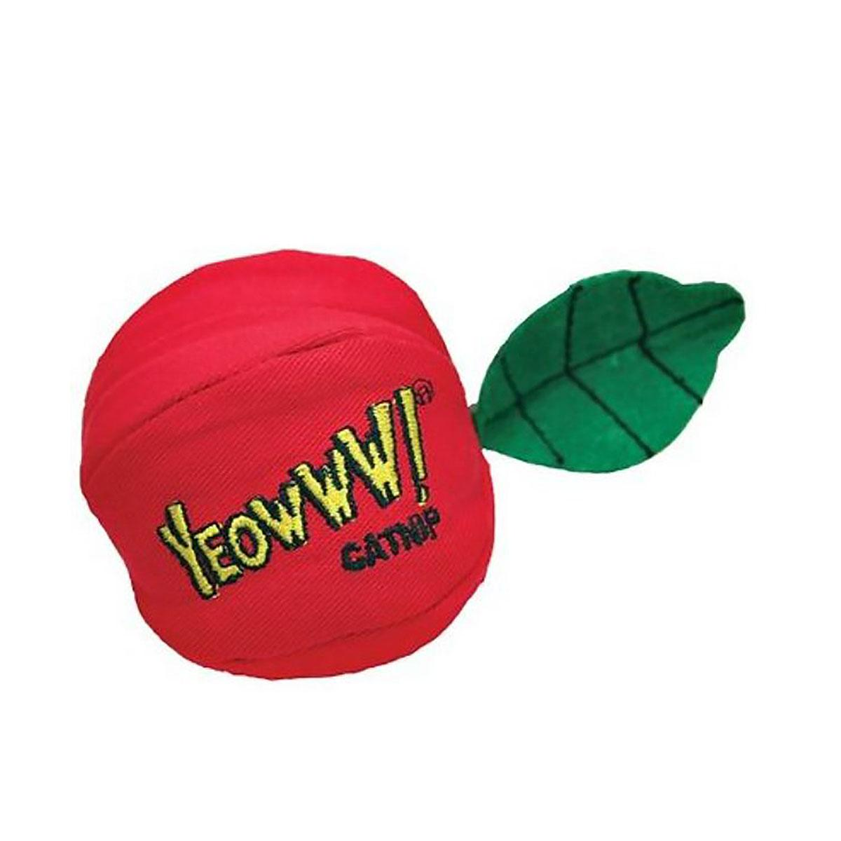 Yeowww! Catnip Cat Toy - Red Apple