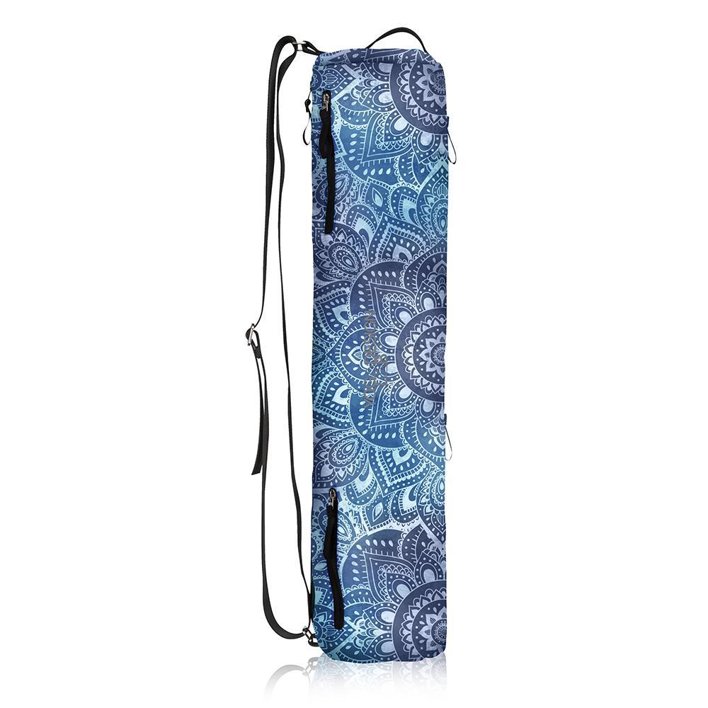 Yoga Mat Bags - Mandala Aqua