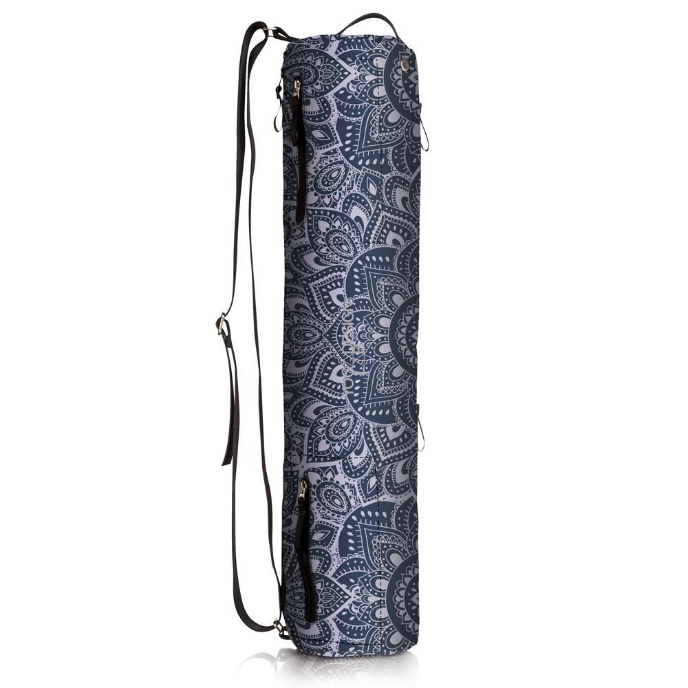 Yoga Mat Bags - Mandala Charcoal