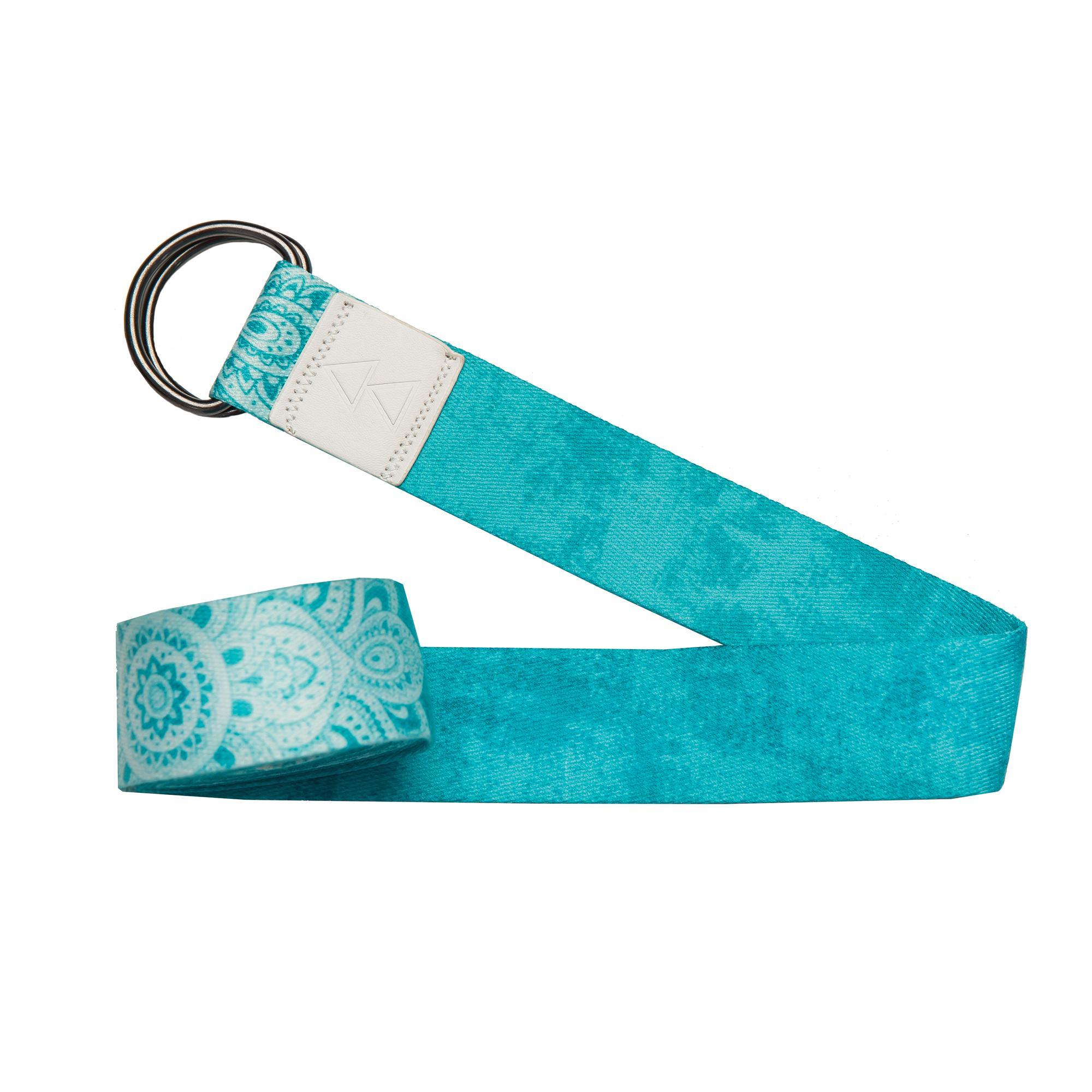 Yoga Strap - Mandala Turquoise
