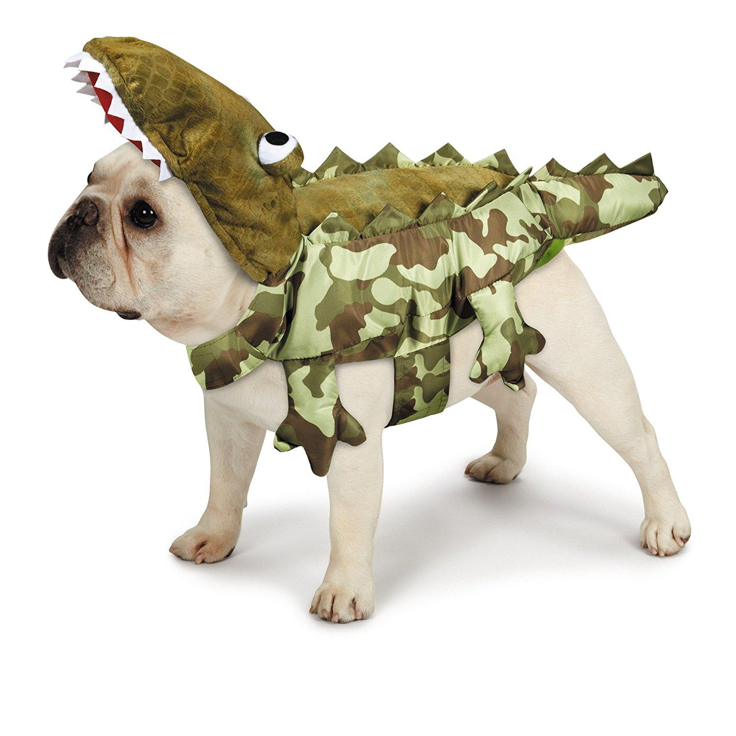 Zack and Zoey Camo Alligator Dog Costume  sc 1 st  BaxterBoo & Animal Dog Costumes | BaxterBoo
