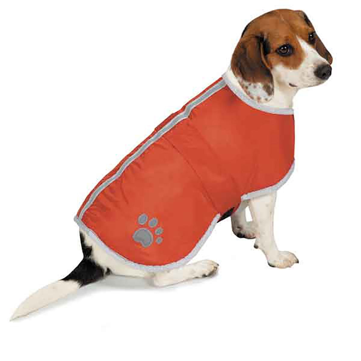 Zack and Zoey Forest Friends Reversible Thermal Nor'Easter Dog Coat