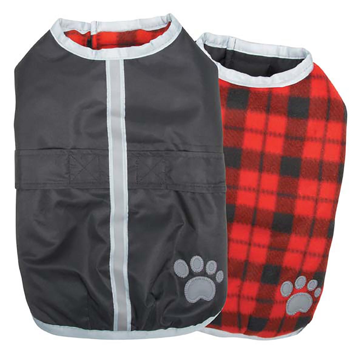 Zack and Zoey Nor'easter Dog Blanket Coat - Black
