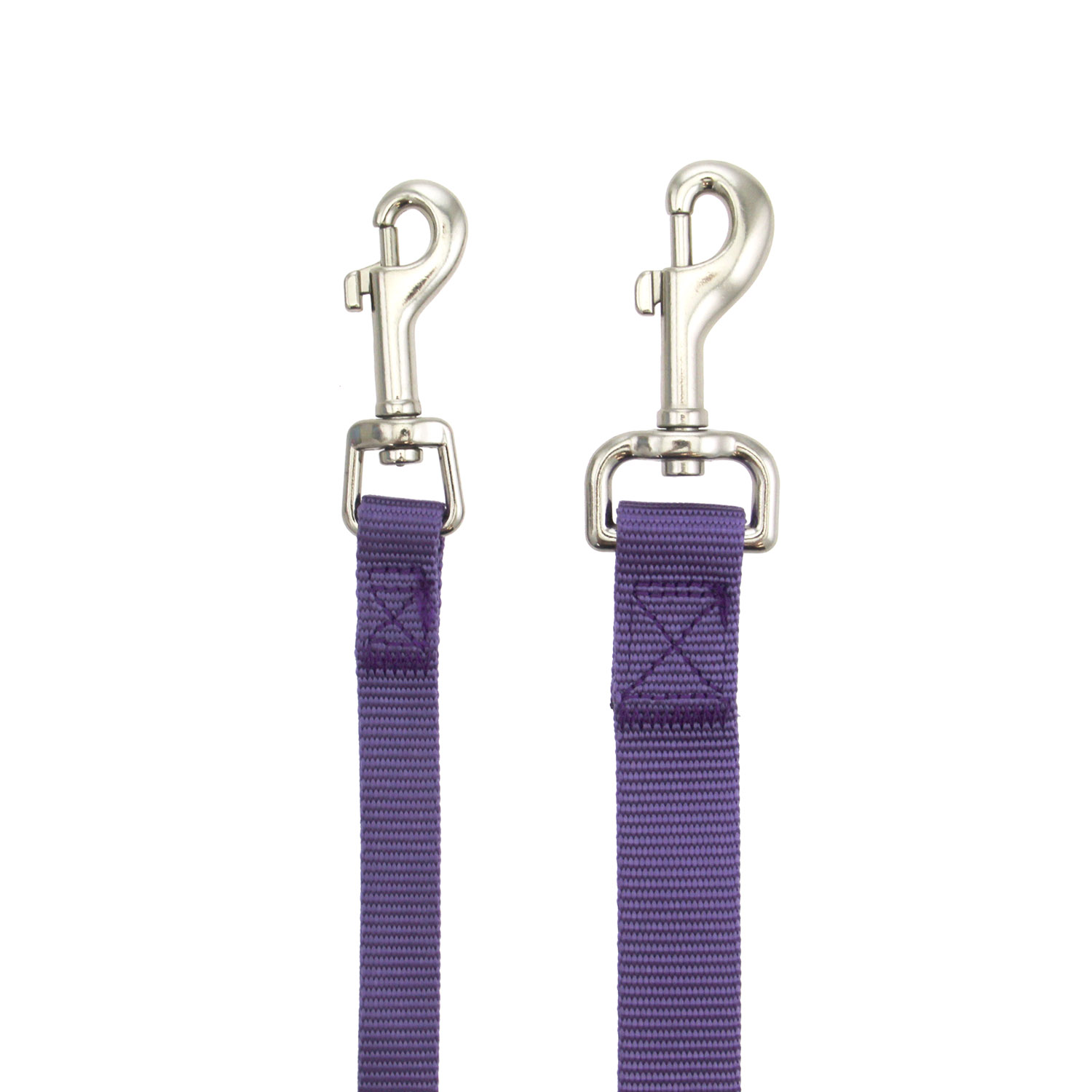 Zack and Zoey Nylon Dog Leash - Ultra Violet