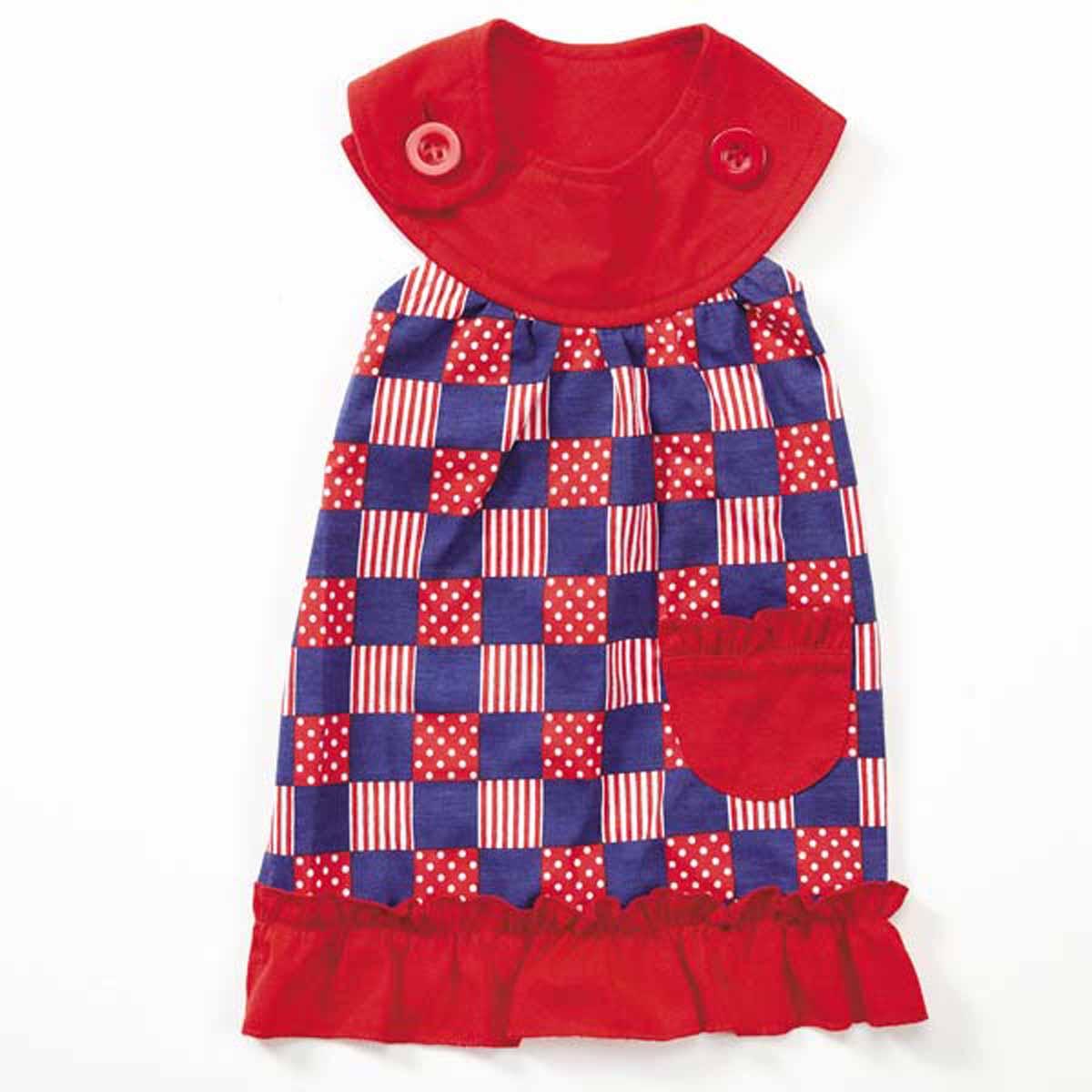 Patriotic Pooch Patchwork SPF40 Dog Dress