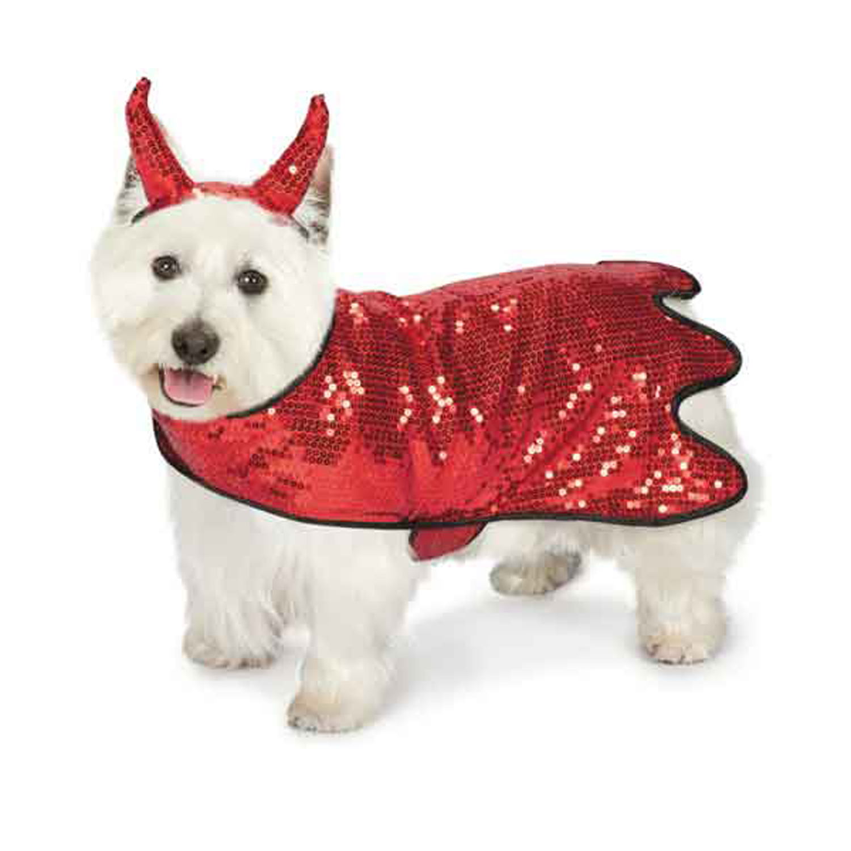 Zack and Zoey Sequin Devil Dog Costume