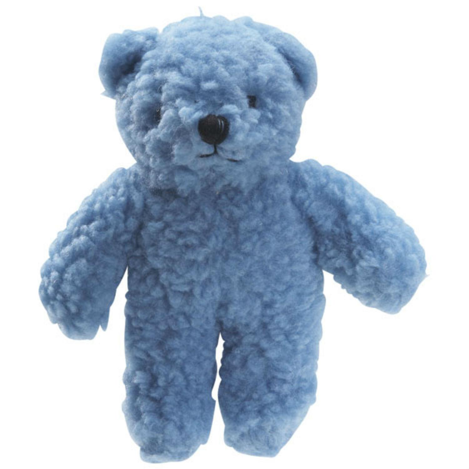 Zanies Berber Bear Dog Toy - Blue