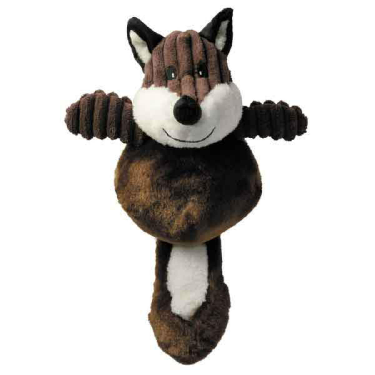 Zanies Country Crew Dog Toy - Fox