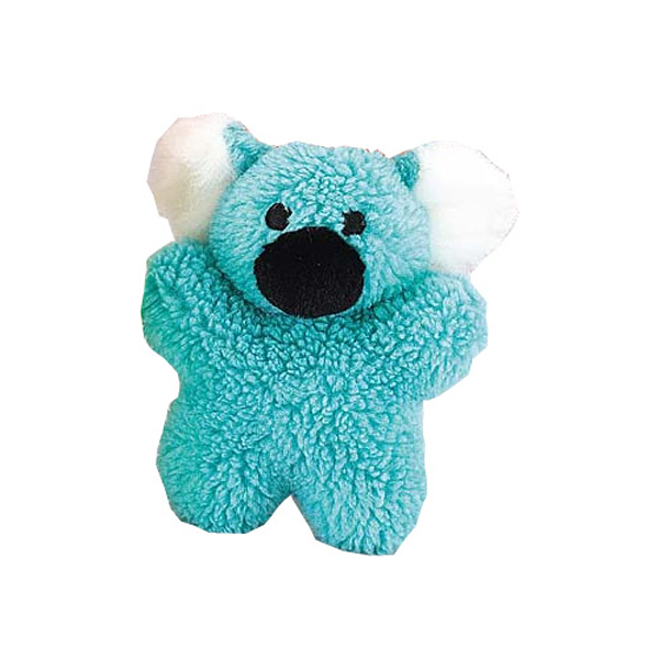 Zanies Cuddly Berber Babies Dog Toy - Blue Koala
