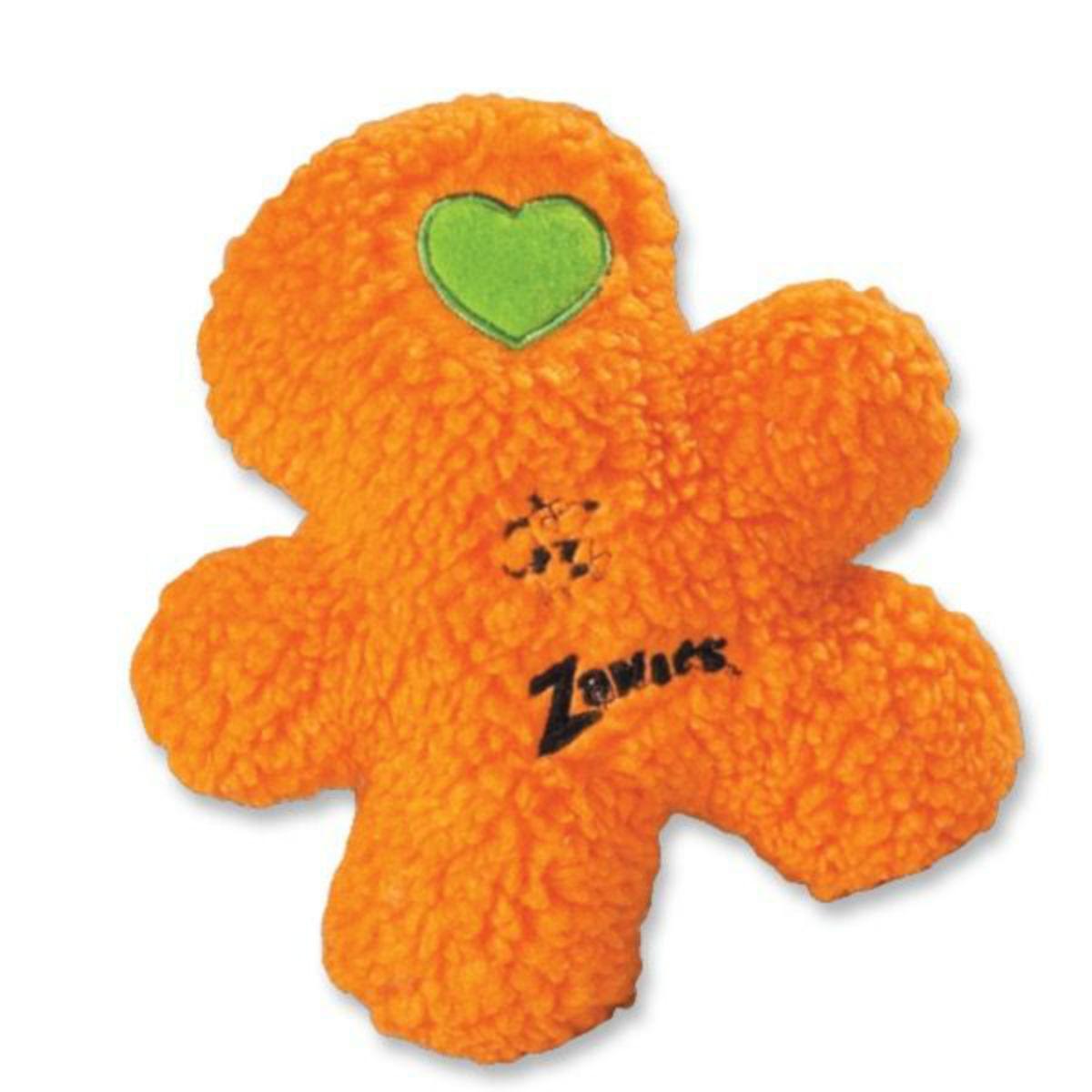 Zanies Embroidered Berber Boys Dog Toy - Orange