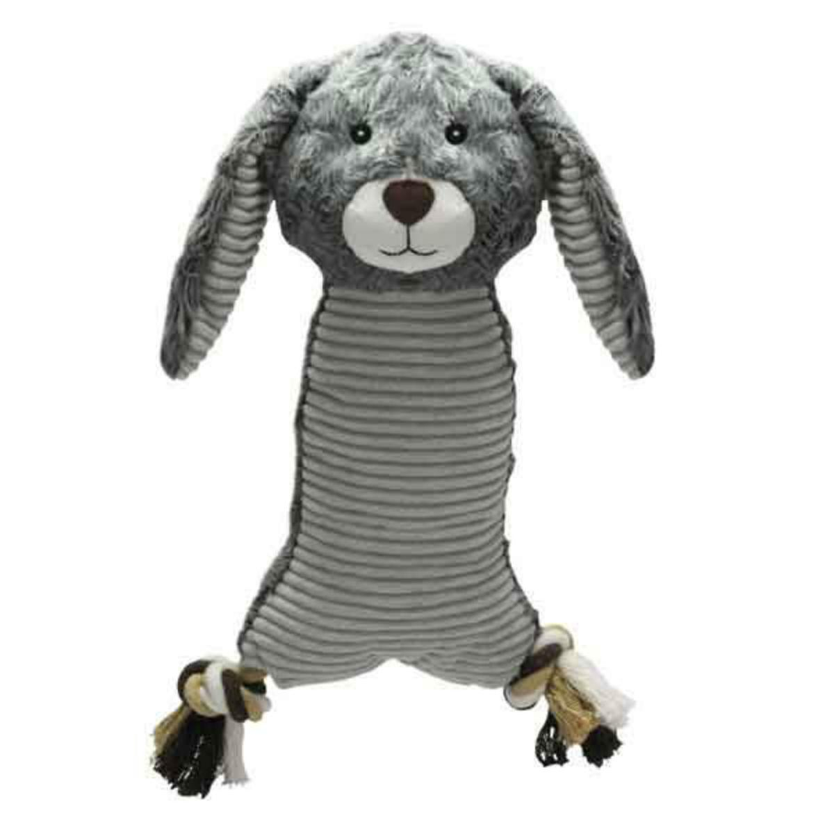 Zanies Farm Folks Dog Toy - Rabbit