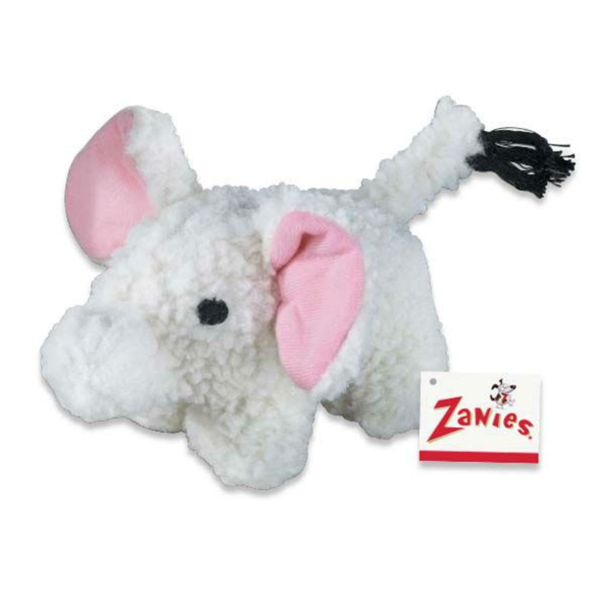 Zanies Fleecy Friends Dog Toy - Elephant