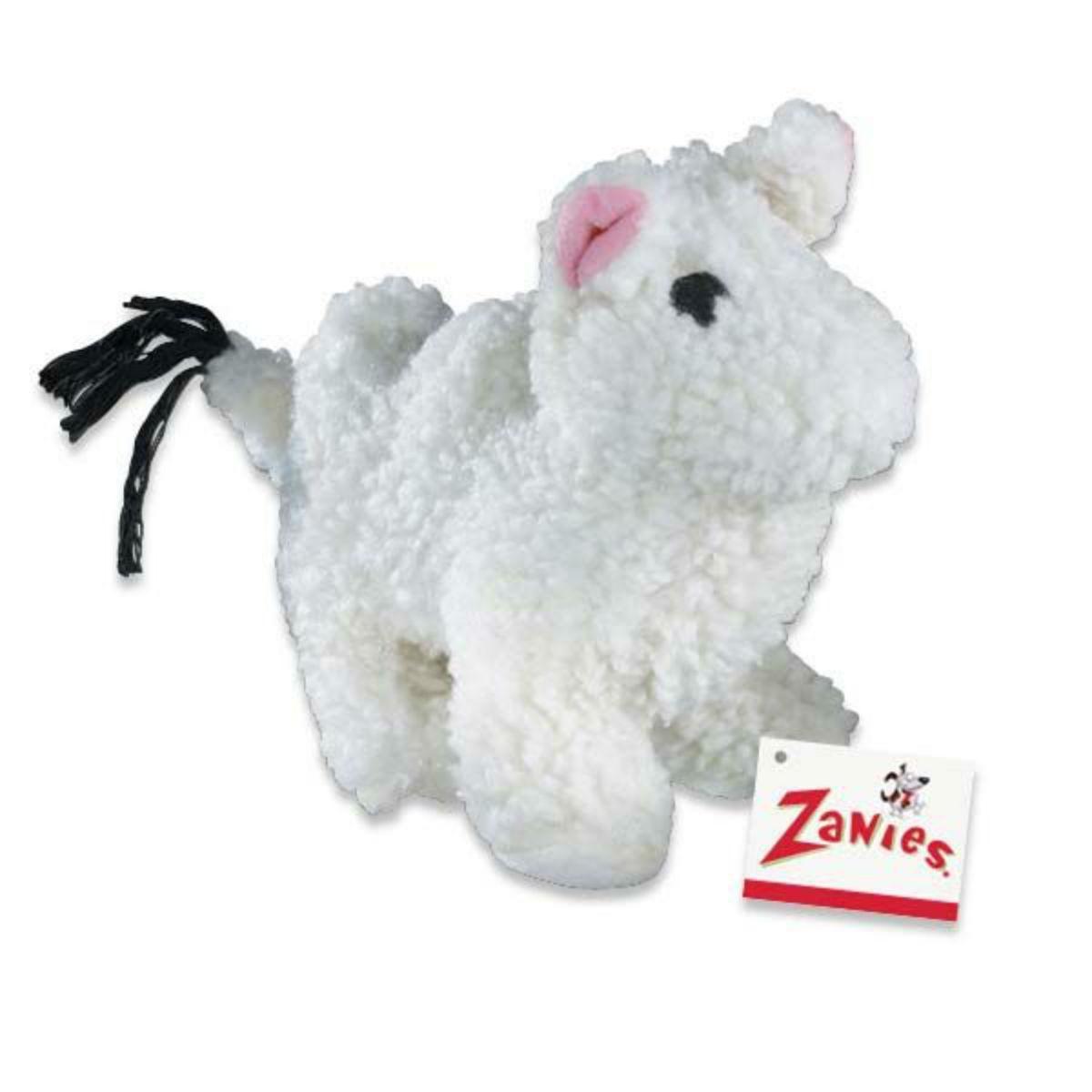 Zanies Fleecy Friends Dog Toy - Camel
