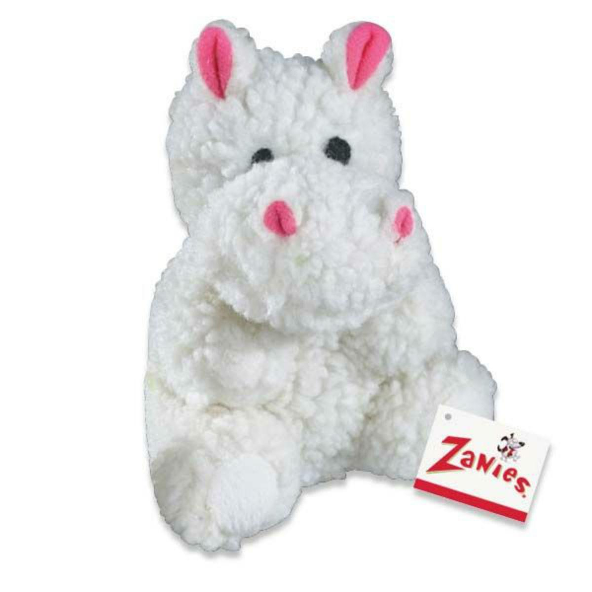 Zanies Fleecy Friends Dog Toy - Hippo