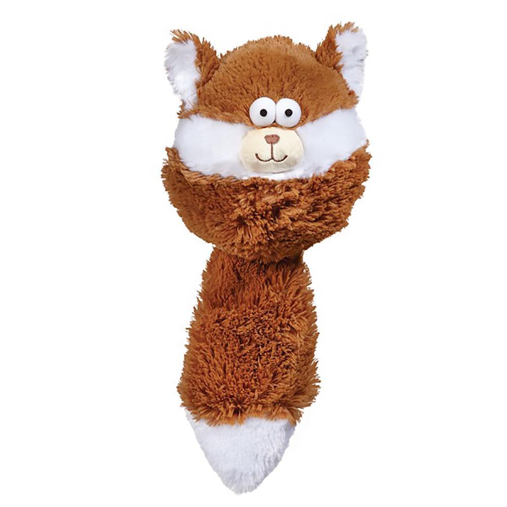 Zanies Funny Furry Fatties Dog Toy -  Squirrel