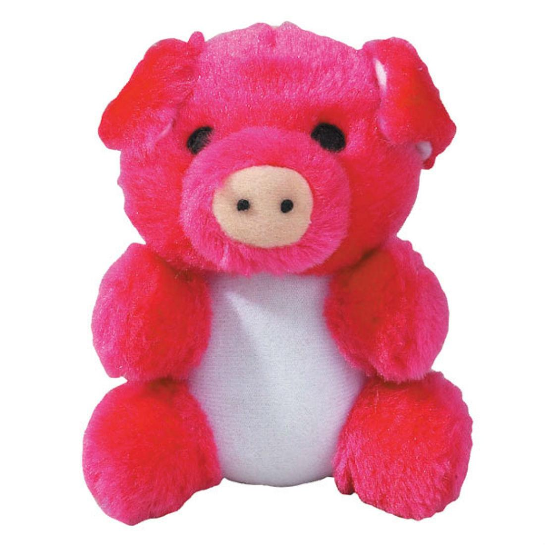 Zanies Kutie Pies Dog Toy - Poink Pig