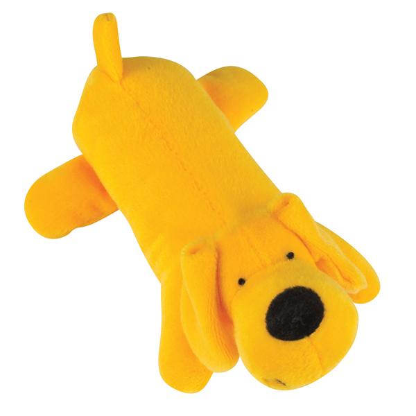 Zanies Neon Big Yelpers Dog Toy - Sunny Yellow